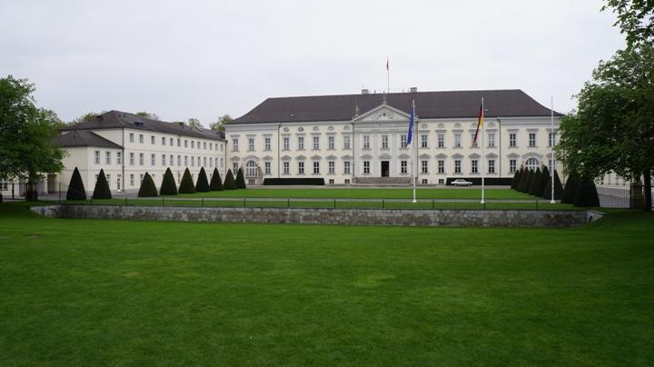 Парк-Тиргартен-дворец-Бельвю
