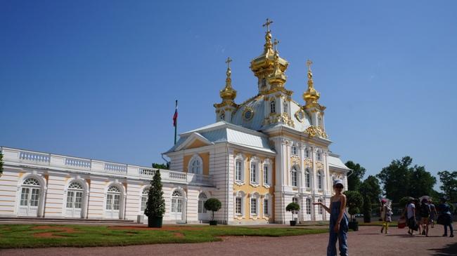 Петергоф-Большой-Дворец