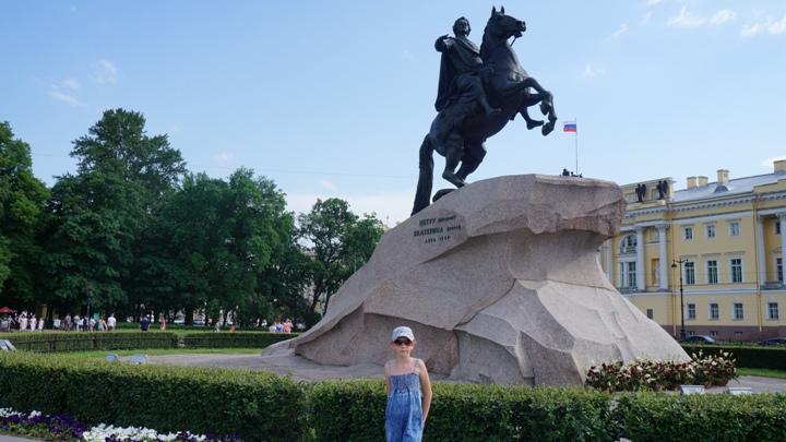 Санкт-Петербург-памятник-Петру-Первому