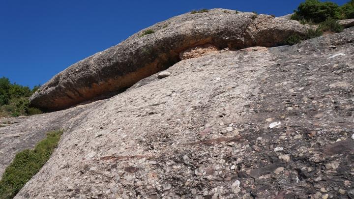 Структура-камня-гор-Монсеррат