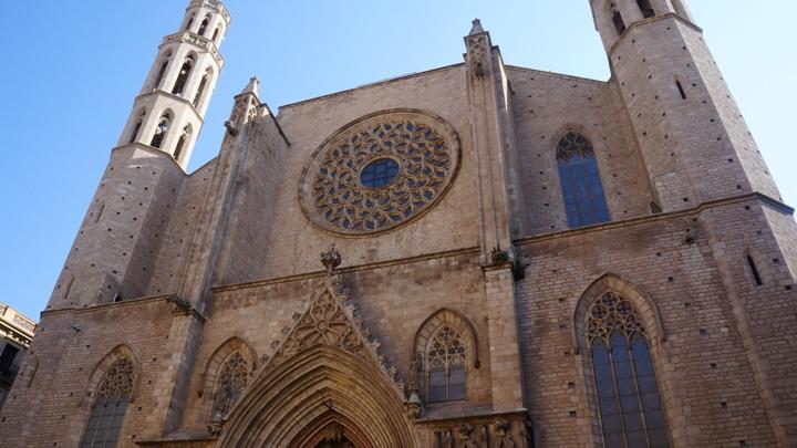 Церковь-Санта-Мария-дель-Мар