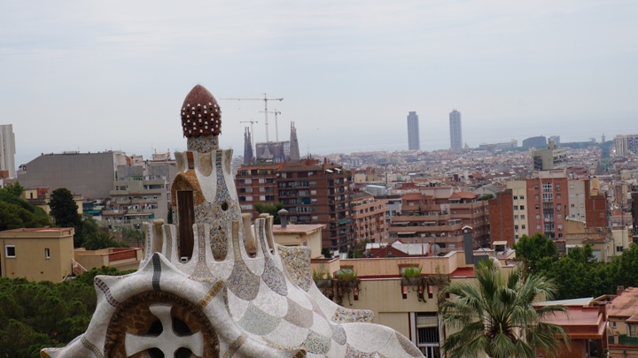 Вид-на-Барселону-из-Парка