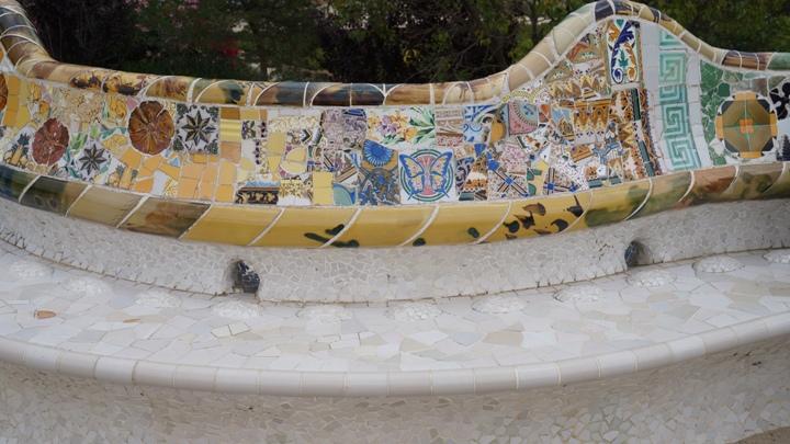 Парк-Гуэля-мозаика