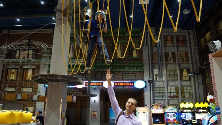 Нижний-уровень-веревочной-трассы-Герои-Парка