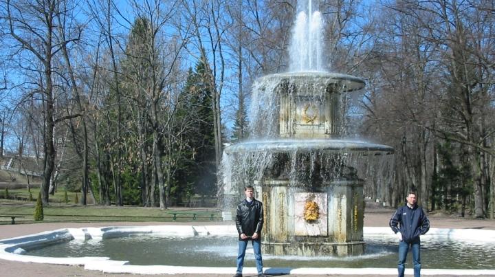 Петергоф-Римские-фонтаны-2003