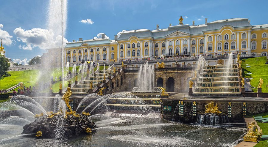 Петергоф-Большой-Каскад