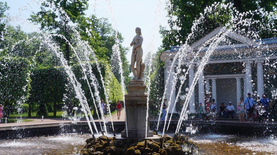 Петергоф-фонтан-Ева