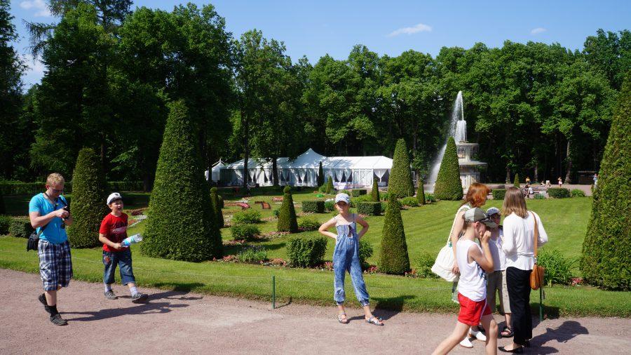 Петергоф-Римские-фонтаны