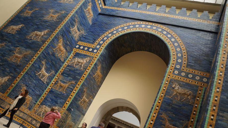 Ворота-Иштар-Пергамский-музей