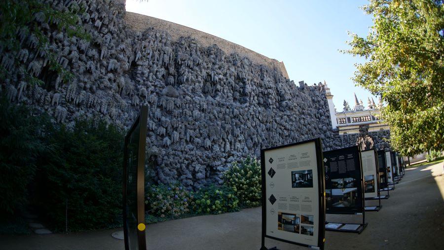 Сталактитовая-стена