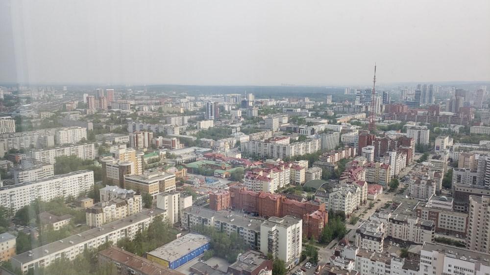Вид из апартаментов Высоцкий